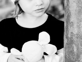 Black and White Children's Photography in Charleston, SC