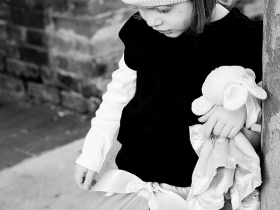 Black and White, Fine Art Children's Photographer in Charleston, SC